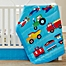 Part of the Olive Kids Trains, Planes, Trucks Crib Bedding Collection