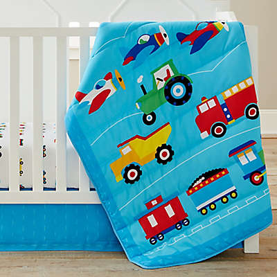 Olive Kids Trains, Planes, Trucks Crib Bedding Collection