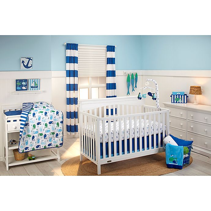 Alternate image 1 for Little Bedding by NoJo® Splish Splash 3-Piece Crib Bedding Set