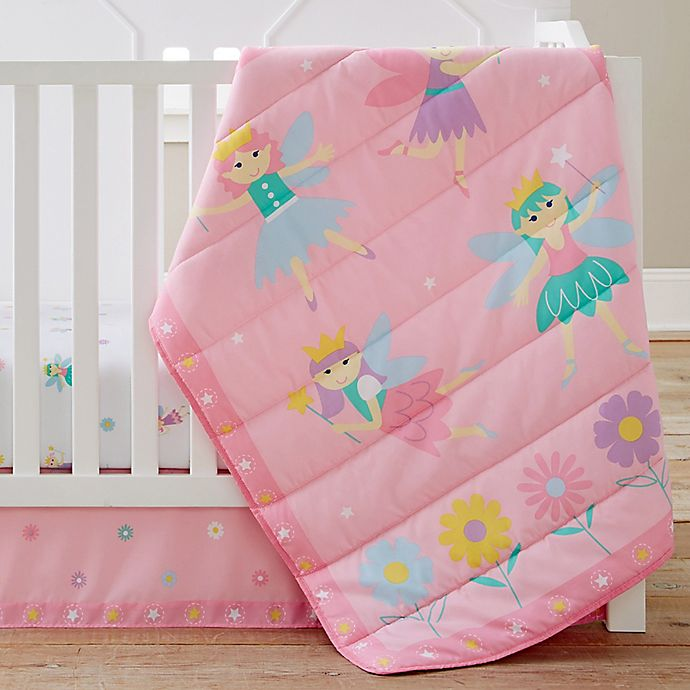Alternate image 1 for Olive Kids Fairy Princess 3-Piece Crib Bedding Set