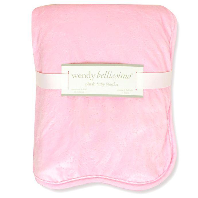Wendy Bellissimo Velboa Ultrasonic Blanket Buybuy Baby