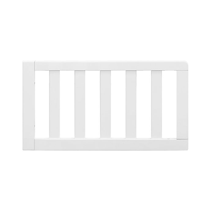 Alternate image 1 for Million Dollar Baby Classic Charlie Toddler Bed Conversion Kit in White