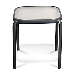 Never Rust Aluminum Outdoor End Table