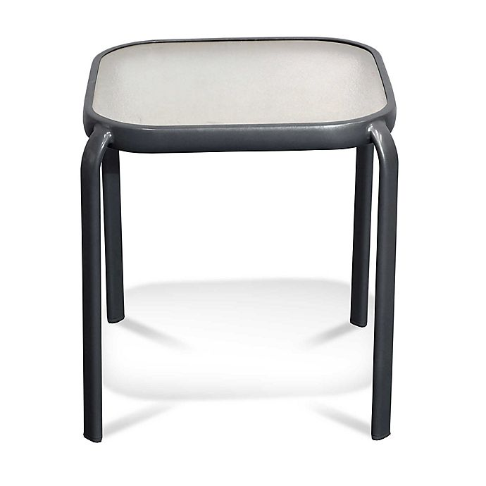 Alternate image 1 for Never Rust Aluminum Outdoor End Table