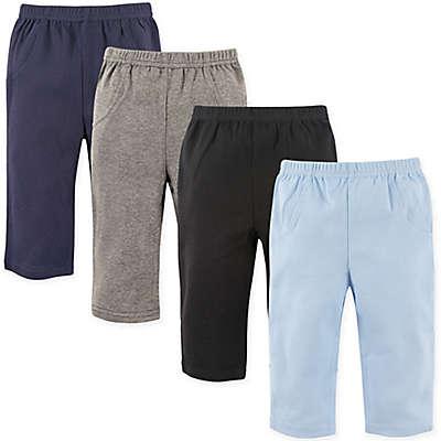 Luvable Friends® 4-Pack Solid Pants