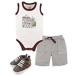 Yoga Sprout Mountains 4-Piece Outfit in Red