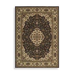 Nourison Persian Arts Kirman Rugs in Chocolate