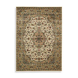 Nourison Persian Arts Kirman Ivory/Gold Rugs