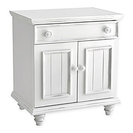 John Boyd Designs Notting Hill 1-Drawer Night Stand in Bright White