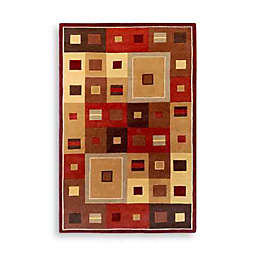 Surya Gloucester Amherst Wool Rectangle Rugs in Burgundy