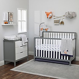 NoJo® Aztec Mix & Match Crib Bedding Collection in Navy/Grey