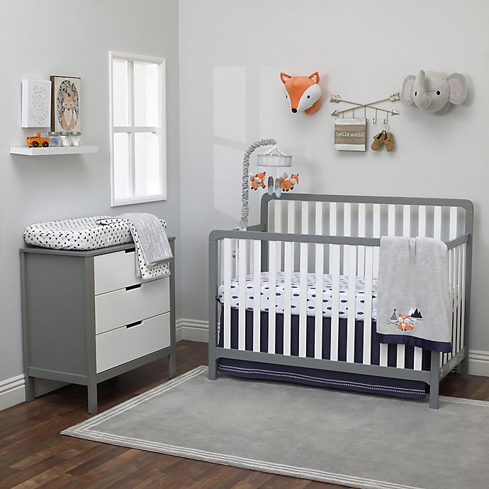 Nojo 174 Aztec Mix Amp Match Crib Bedding Collection In Navy