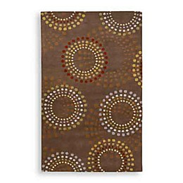 Surya Bayonne Dazzle Rectangle Rugs in Chocolate
