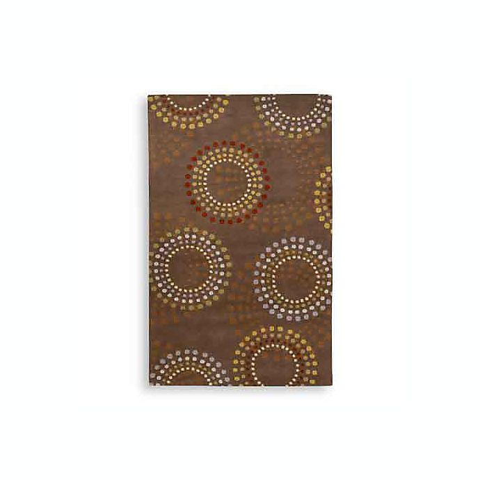 Alternate image 1 for Surya Bayonne Dazzle Rectangle Rugs in Chocolate