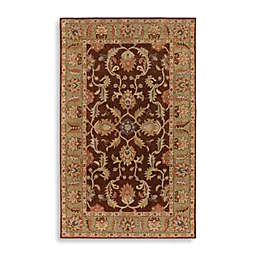 Surya Paterson Wool Rectangle Rugs in Chocolate