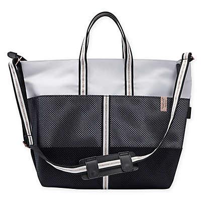 Rachel Zoe x Quinny Luxe Sport Diaper Bag in Black/Grey