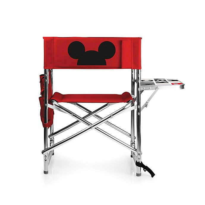 Alternate image 1 for Picnic Time® Mickey Mouse Sports Chair in Red
