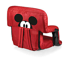 Picnic Time® Ventura Mickey Mouse Reclining Stadium Seat in Red