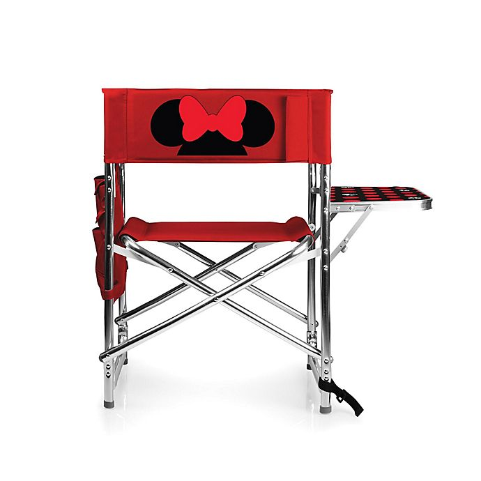 Alternate image 1 for Picnic Time® Disney® Minnie Mouse Sports Chair in Red