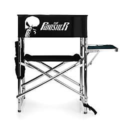 Picnic Time® The Punisher Folding Sports Chair in Black