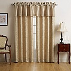 Marquis® by Waterford Isabella 84-Inch Rod Pocket Window Curtain Panel Pair in Gold