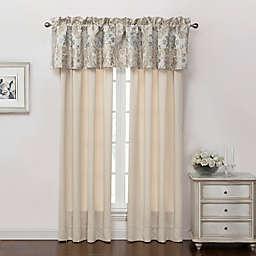 Marquis® by Waterford Warren 84-Inch Rod Pocket Window Curtain Panel Pair in Cream