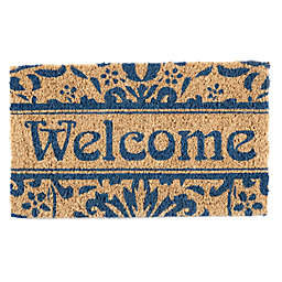 Entryways Damask Welcome 18