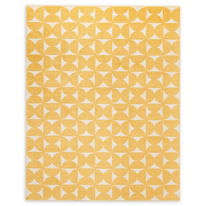 Alternate image 1 for Nourison Harper 8' x 10' Area Rug in Yellow