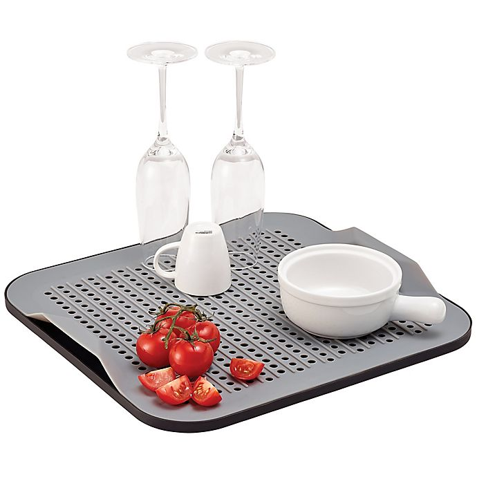 Alternate image 1 for Better Housewares 2-Piece Silicone Drying Mat Set