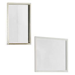Hillsdale Furniture Kid's Tinley Park Mirror in Soft White