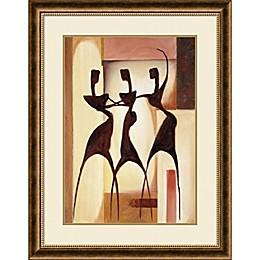 Amanti Art Island Ladies 30-Inch x 38-Inch Framed Wall Art