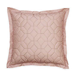 Beautyrest® Montreal Quilted Square Throw Pillow in Rose