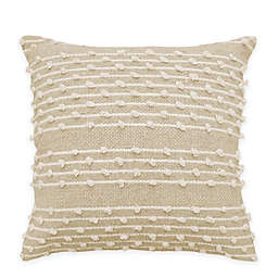 Beautyrest® Pemberly 18-Inch Square Throw Pillow in Beige