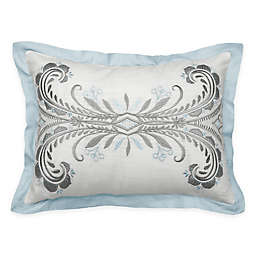 Beautyrest® Arlee Embroidered Oblong Throw Pillow in Spa