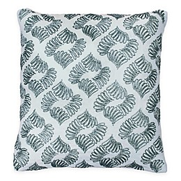 Beautyrest® Arlee Beaded Square Throw Pillow in Spa