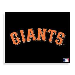 MLB San Francisco Logo Canvas Wall Art