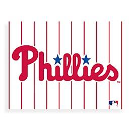 MLB Philadelphia Phillies Logo Canvas Wall Art