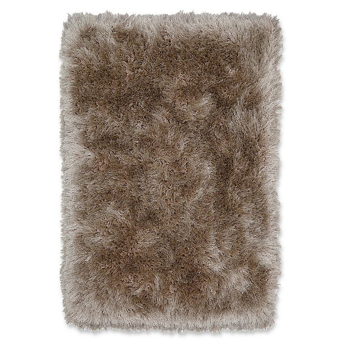 Alternate image 1 for Mohawk Home Juliet Metallic 7' x 10' Shag Area Rug in Taupe