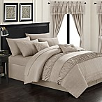 Chic Home Kea 20-Piece Queen Comforter Set in Taupe