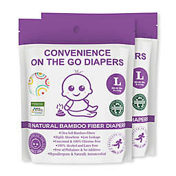 Convenience On The Go 2-Pack Diapers