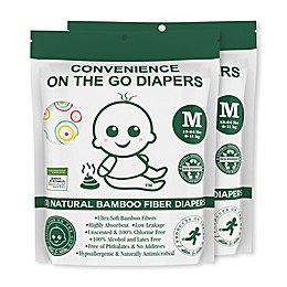 Convenience On The Go 3-Pack Diapers