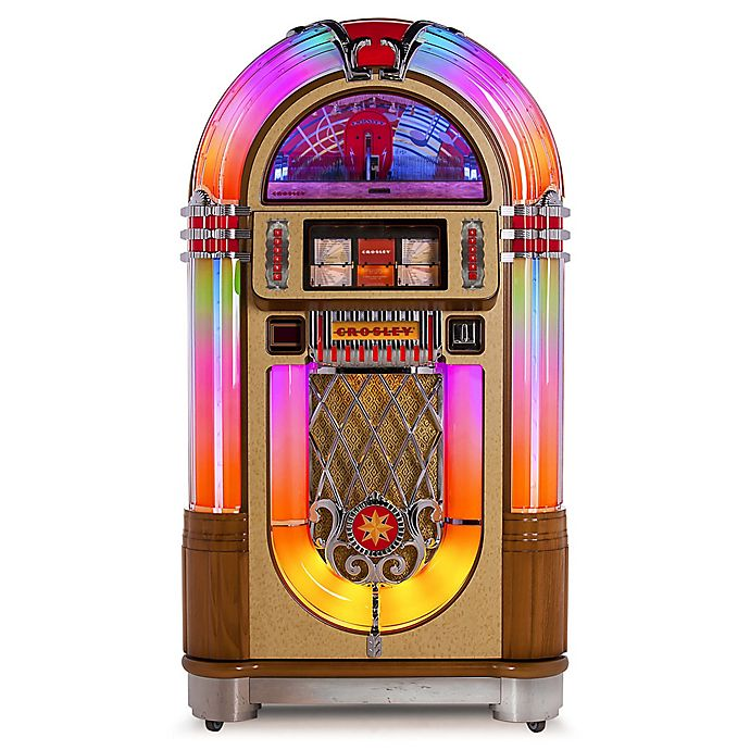 Alternate image 1 for Crosley Radio Slimline Jukebox