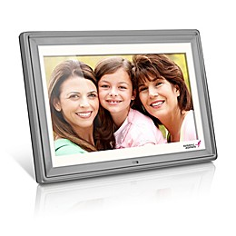 Aluratek Susan G. Komen Edition 10-Inch Digital Photo Frame in Silver