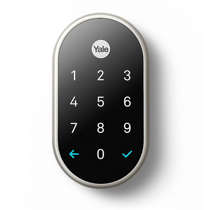 Alternate image 1 for Nest X Yale Lock with Nest Connect