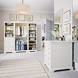 Home Styles Naples 4-Piece Closet Organizer