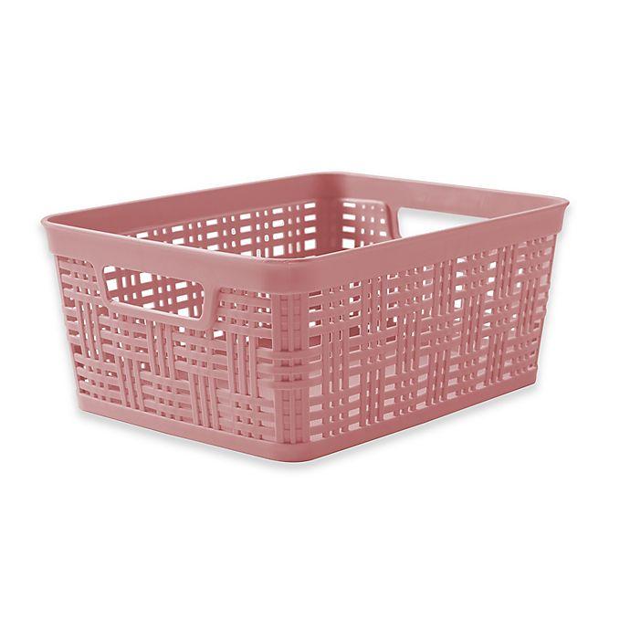Starplast Plastic Wicker Storage Basket
