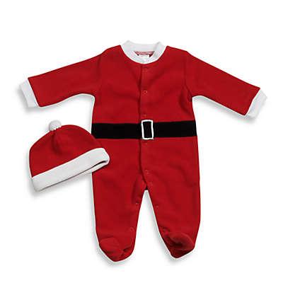 babyGEAR™ Santa Fleece Footie