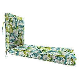 Jordan Manufacturing Senca Caribbean 80-Inch Chaise Lounge Cushion in Green