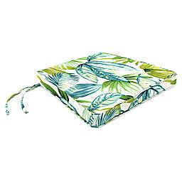 Jordan Manufacturing Senca Caribbean 19.5-Inch Square Boxed Edge Cushion in Green
