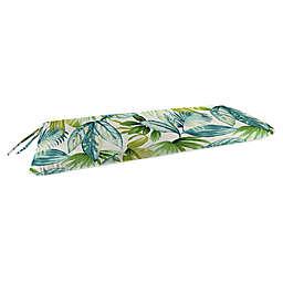 Jordan Manufacturing Senca Caribbean 2-Person Knife Edge Glider Cushion in Green